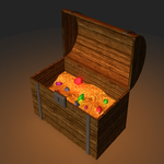 Viking Mayhem treasure chest by Argantara