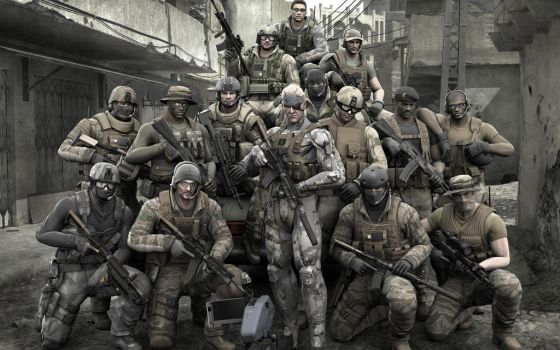 Metal Gear Solid 4 Hd Wallpapers by Kushina-CZ