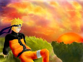 Grief -Naruto Fanart- by FireDolphin