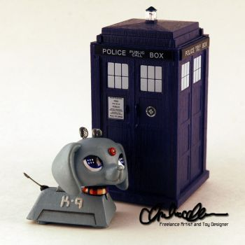 K-9 from Doctor Who custom LPS by thatg33kgirl