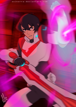 Keith Ready for Fight! by SolKorra