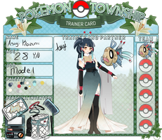 PTS - Asagi Trainer Card (INACTIVE) by Soulfulmoon