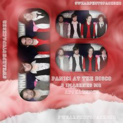 Photopack 79: Panic! at the disco by SwearPhotopacksHQ