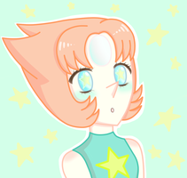 Stars and a Pearl - Steven Universe by SongstressFlowerMiku