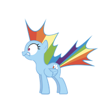 Rainbow Dash - Shocked by GeoNine