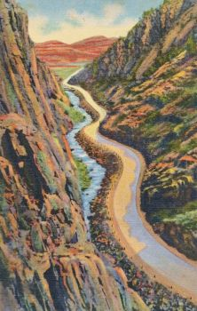 Vintage Colorado - Big Thompson Canyon by Yesterdays-Paper