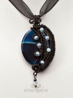 Evening sky pendant by ukapala