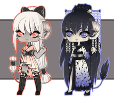 Asian Demonesses PART1/3 [Adoptables] CLOSED by Siraviena