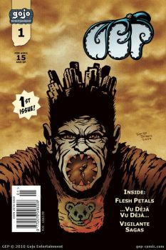 Issue 1 cover by Diorgo