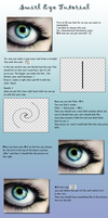 Tutorial: Swirl Eye by Crazy-Kiwii
