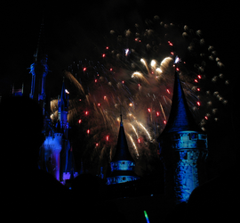 Castle Fireworks Show IMG 1132 by TheStockWarehouse