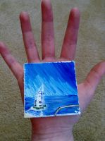 MINI PAINTINGS NOW ON SALE by owlsomeart