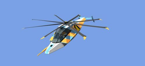 Stealthy Helicopter Reskin 2 by illuminatus-shadow