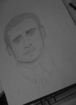 Steve Carell by bruberries