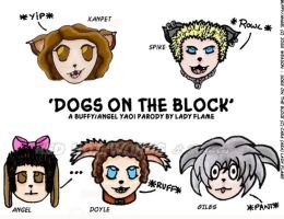 Dogs On The Block - Headshots by Lady-Flame