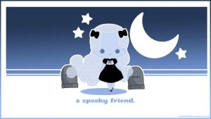 A Spooky Friend Desktop by KotoriK