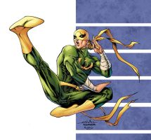 Iron Fist  By Spiderguile by RossHughes