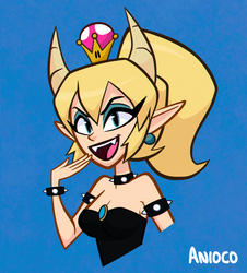 Bowsette by Anioco