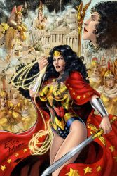 Wonder Woman color by Sulamoon by DCNAUTA