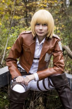 Snk Armin pic I don't know what to call 4 by Kitty-Renemi
