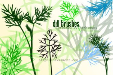 Dill Brushes by hawksmont