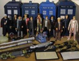 11 Doctors and some stuff by Police-Box-Traveler
