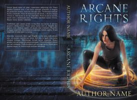 Arcane Rights - premade print cover - SOLD by LHarper