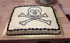 Skull And Crossbones by LucyQ602