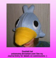Ducklett hat by PokeMama