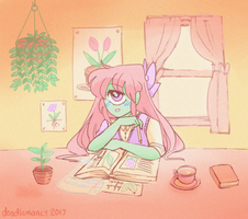 studying by doodlemancy