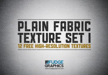 Plain Fabric Texture Set 1 by fudgegraphics