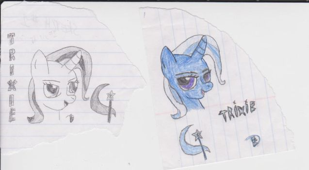 trixie before and after by dibble56