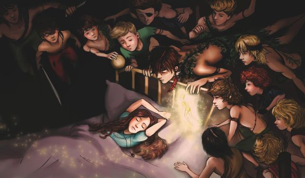 Peter and the Lost Boys by Szikee