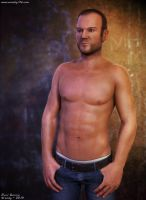 Fashion Model (Male Version) by Woodys3d