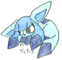 No. 471 Glaceon or Glacia by AuraLight