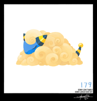 Mareep!  Pokemon One a Day, Series 2! by BonnyJohn