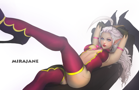Mirajane by SweeetRazzbery