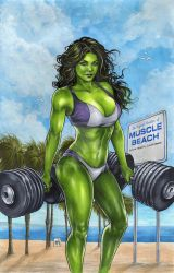 She Hulk by Kromespawn