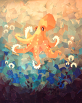 Dancing Octopus by Kaiden-Jackson