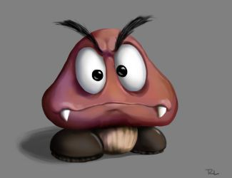 Goomba Speed Paint by MeteoDesigns