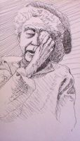 old woman study by pexa