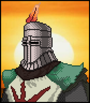 Solaire of Astora by vitosos