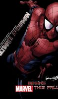 Ultimate Spiderman 2011 by RedScar07