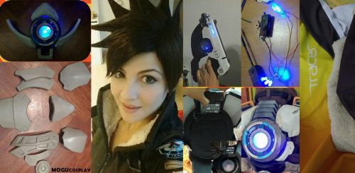 Tracer - Overwatch - Making of by MoguCosplay