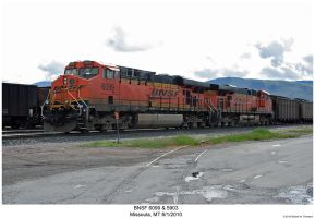 BNSF 6099 + 5903 by hunter1828