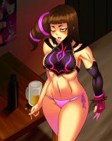 Juri is sleepy by chacrawarrior