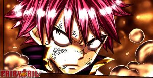 Natsu Dragneel The Fire Dragon Slayer by fullmetaljuzz