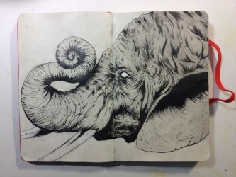 Sketchbook:Tusk Giant by emonic1