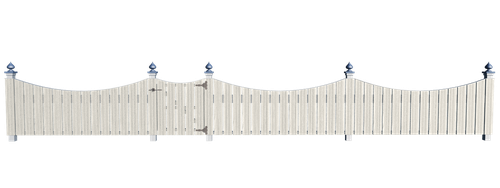 Arched Fence- PNG STOCK by KarahRobinson-Art