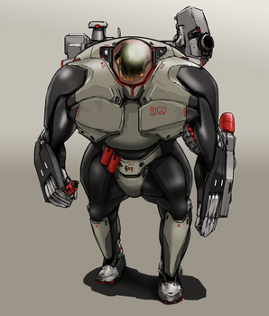 Starship Troopers - Maurader by dfacto